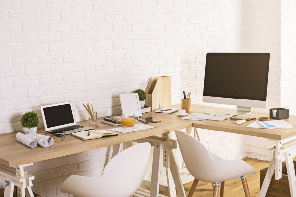 bookkeeping workspace pattered like many existing businesses